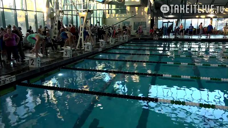 Heat 8 | 21 Women 50 Free | 2016 SPMS Short Course Meters Championship | VIDEO
