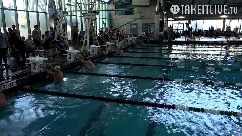 Heat 2 | 15 Men 100 Back | 2016 SPMS Short Course Meters Championship | VIDEO
