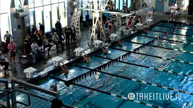 Heat 2 | 6 Women 200 Back | 2016 SPMS Short Course Meters Championship | VIDEO