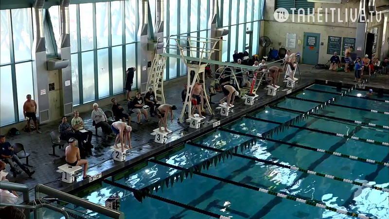 Heat 2 | 10 Men 400 Free | 2016 SPMS Short Course Meters Championship | VIDEO