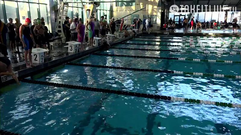 Heat 6   34 Women 50 Back   2016 SPMS Short Course Meters Championship   VIDEO