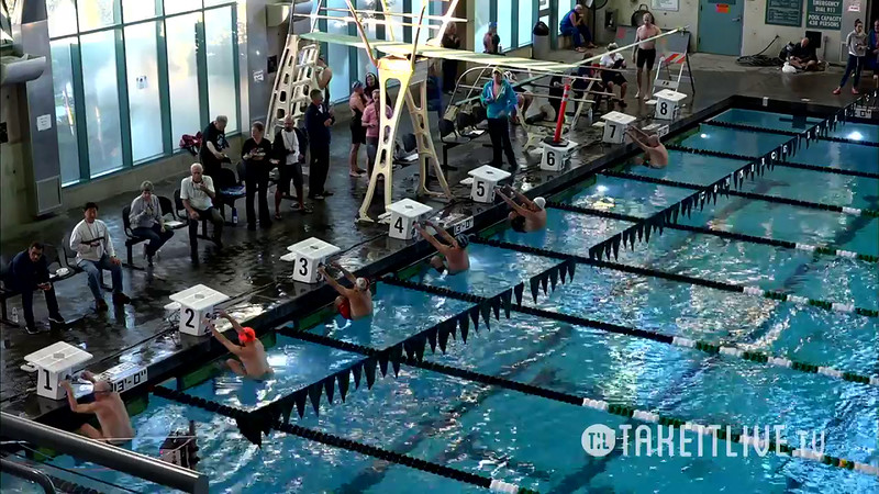 Heat 1 | 7 Men 200 Back | 2016 SPMS Short Course Meters Championship | VIDEO