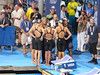215 NBC interview GOLD  4X100 medley relay