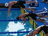 Day 5 finals 100 freestyle Natalie in black cap