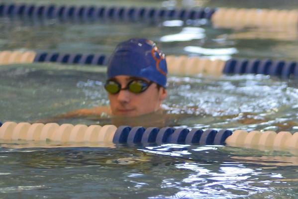 2014-02-04 Dayton Coed Varsity Swim Team vs Linden