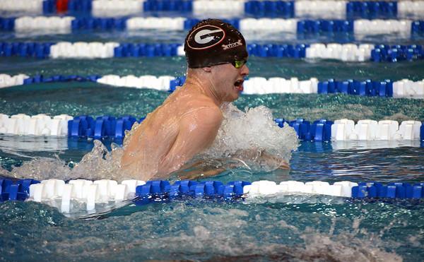 UGA swimmer Gunnar Bentz