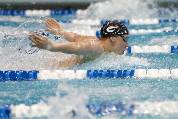 UGA's swimmer Chase Kalisz