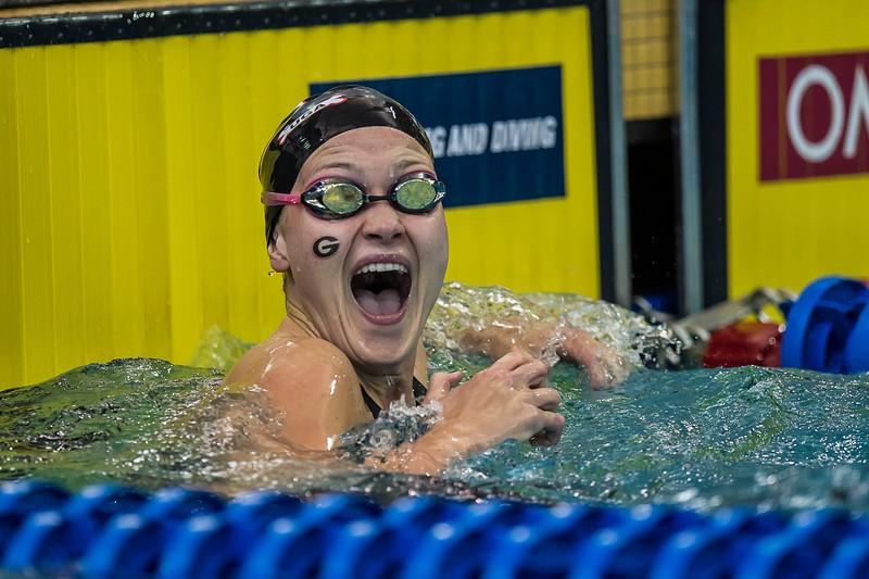 Olivia Smoliga    Photo: Georgia Sports Communications