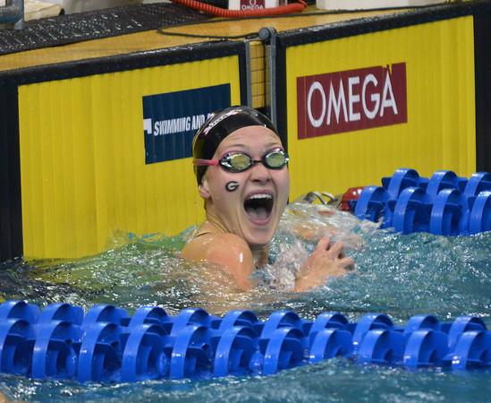 UGA swimmer and Olympian, Olivia Smoliga