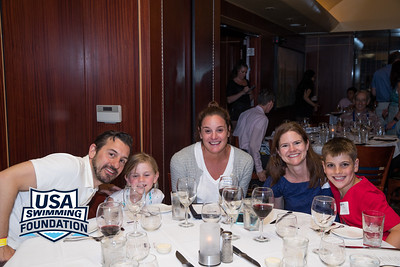 The USA Swimming Foundation VIP Dinner  Tuesday, June 28, 2016. Photo/Melissa Lundie