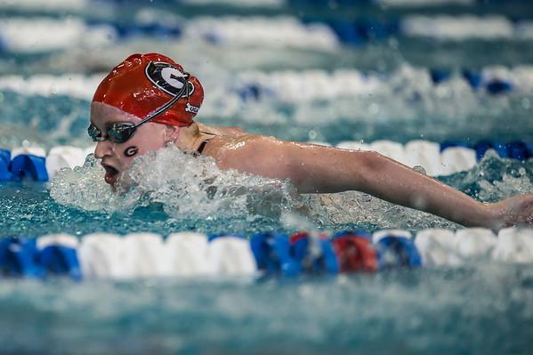 UGA swimming and diving athlete, Megan Kingsley
