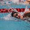 Georgia's Sam Fazio during the Bulldog Last Chance Meet at Gabrielson Natatorium in Athens, Georgia on Sunday, February 26, 2017. (Photo by Cory Cole)