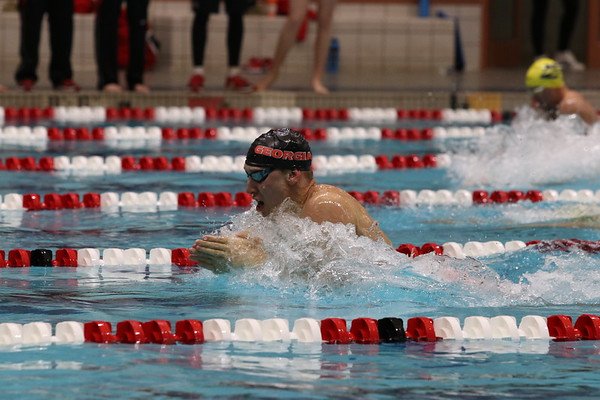 Chase Kalisz UGA Men's Swimming and Diving Team (Photo by Cory A. Cole  / Georgia Sports Communication)