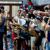 Members of the Georgia swimming and diving team compete during the UGA Fall Invitational at Gabrielsen Natatorium in Athens, Ga., on Sunday, Dec. 4, 2016, (Photo by John Paul Van Wert)