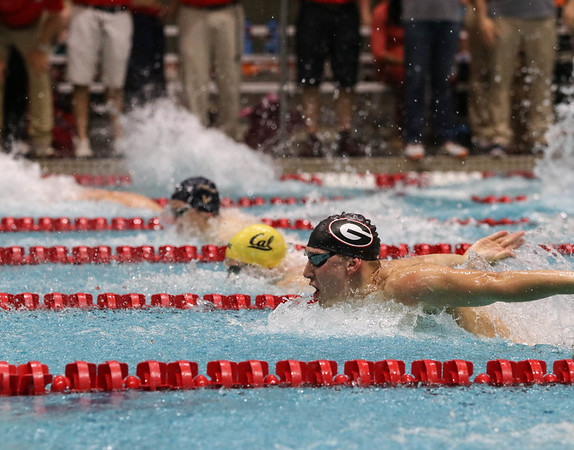 Georgia's Chase Kalisz during the Georgia Fall Invitational at the Gabrielsen Natatorium on Friday, Dec. 2, 2016