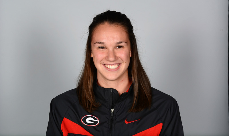 Chantal Van Landeghem - UGA women's swimming and diving team (Photo from Georgia Sports Communication)