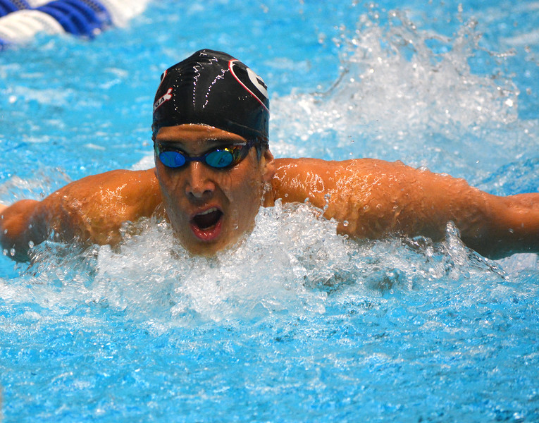 Georgia swimmer Kevin Litherland  (Photo by Steven Colquitt / Georgia Sports Communication)