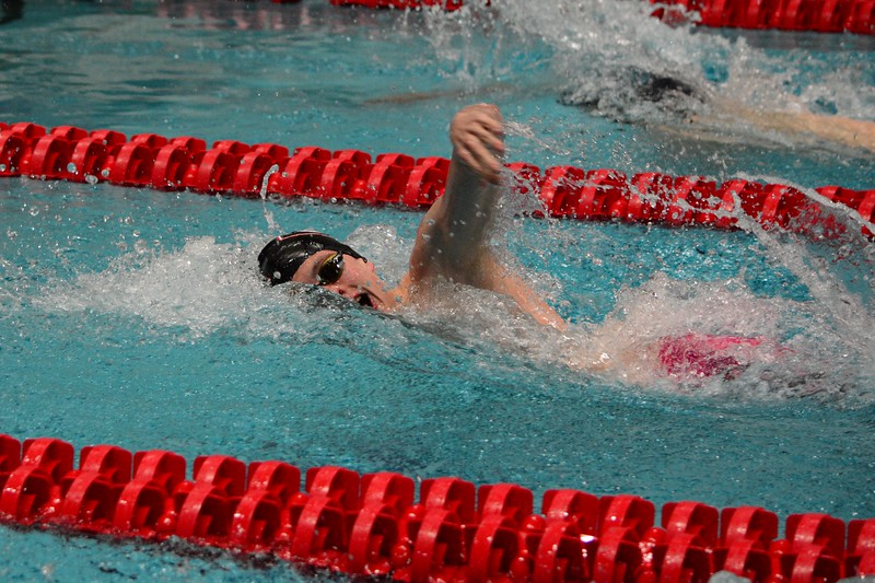 Georgia swimmer Greg Reed during the UGA Fall Invitational at the Gabrielsen Natatorium in Athens, Ga. on Friday, Dec. 1, 2017. (Photo by Caitlyn Tam)