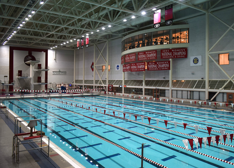 UGA's Gabrielsen Natatorium (Photo from Georgia Sports Communication)