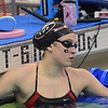 Georgia's Maddie Wallis during the NCAA Women's Swimming and Diving Championships in Columbus, Ohio, on Thursday, March 15, 2018. (Photo by Steven Colquitt)