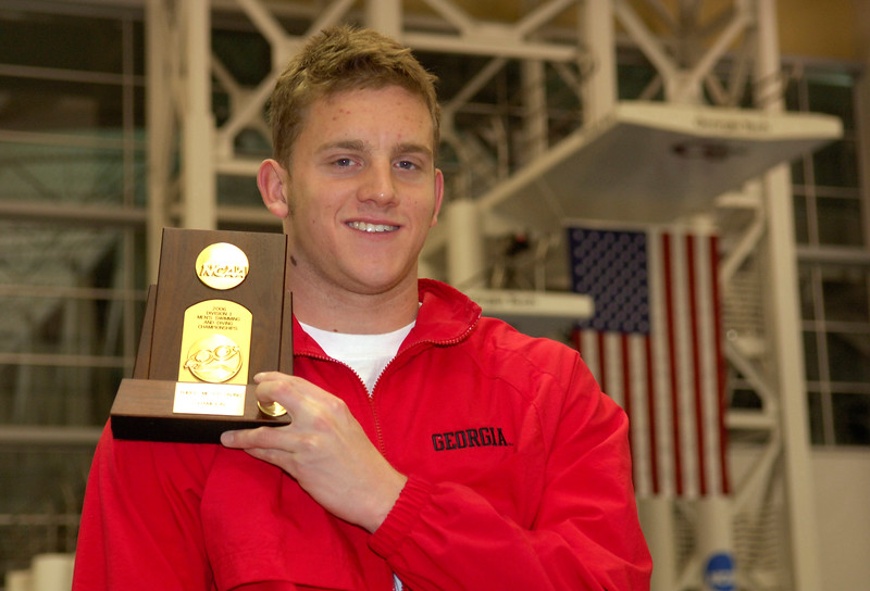Chris Colwill, UGA Swimming & Diving 2004-2006, 2008 (Photo from Georgia Sports Communication)