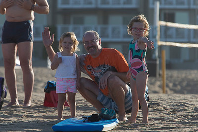 Future LAPS Swimmers and Dad