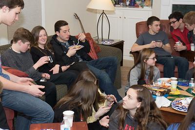 Pasta Party at Sheridans