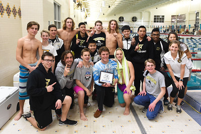 Swimming: 2016 Conference 22 Championship 1.30.16