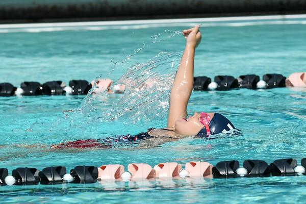 Wasco Swim Meet Girls Backstroke