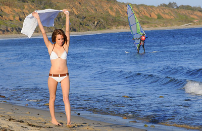 Pretty Bikini Swimsuit Model Beauty