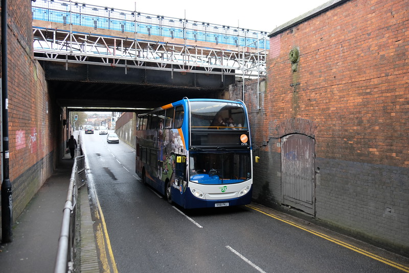 Robourne Road Swindon, bridge works