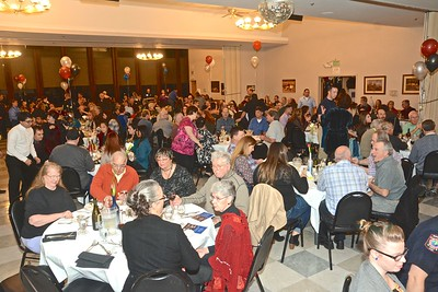 "More than 300 filled the Elks Lodge for the Make-A-Wish Foundation fundraiser. The local chapter of Make-a-Wish partners with the larger Make-A-Wish  Foundation raising funds to ""grant wishes"" for children with life-threatening medical conditions. (Jose Quezada - For the Times-Standard)"