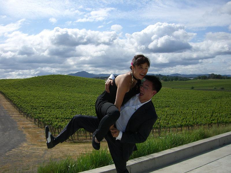 2006 05 20 Sat - Yon Na & Ben Yu lift 2