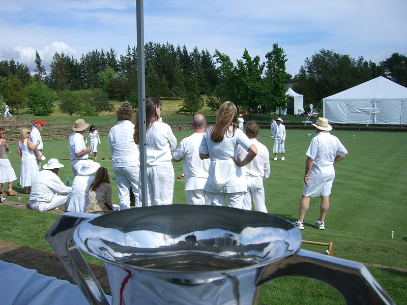 2006 05 20 Sat - Croquet players & trophy 1