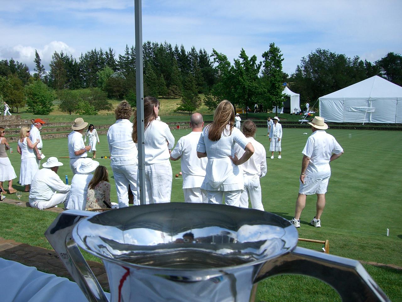 2006 05 20 Sat - Croquet players & trophy 1
