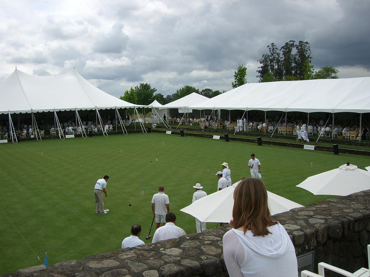 2006 05 20 Sat - Croquet Tournament 2