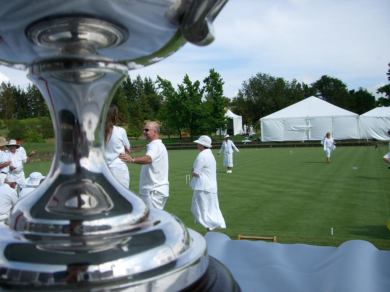 2006 05 20 Sat - Croquet players & trophy 2