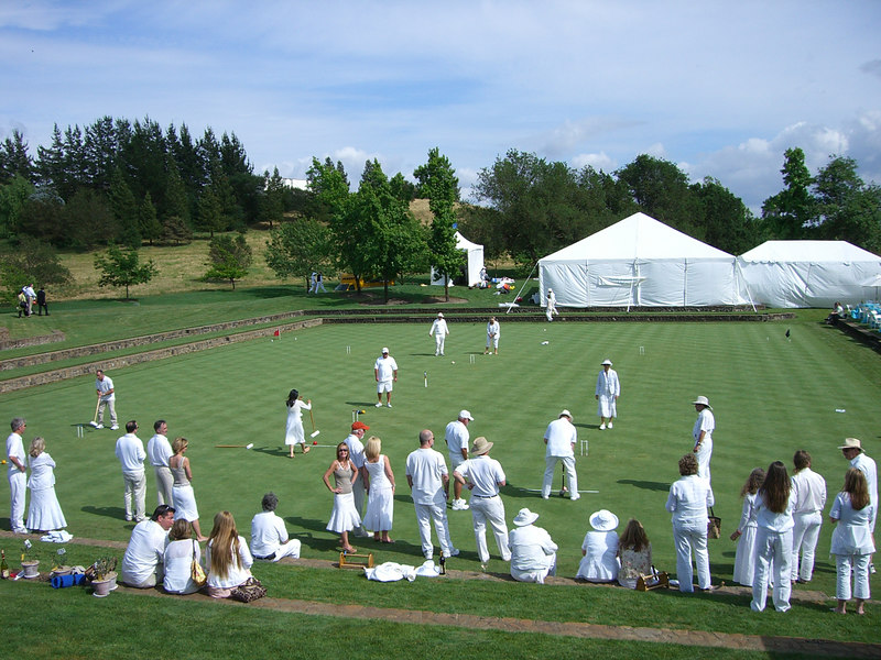 2006 05 20 Sat - Croquet players