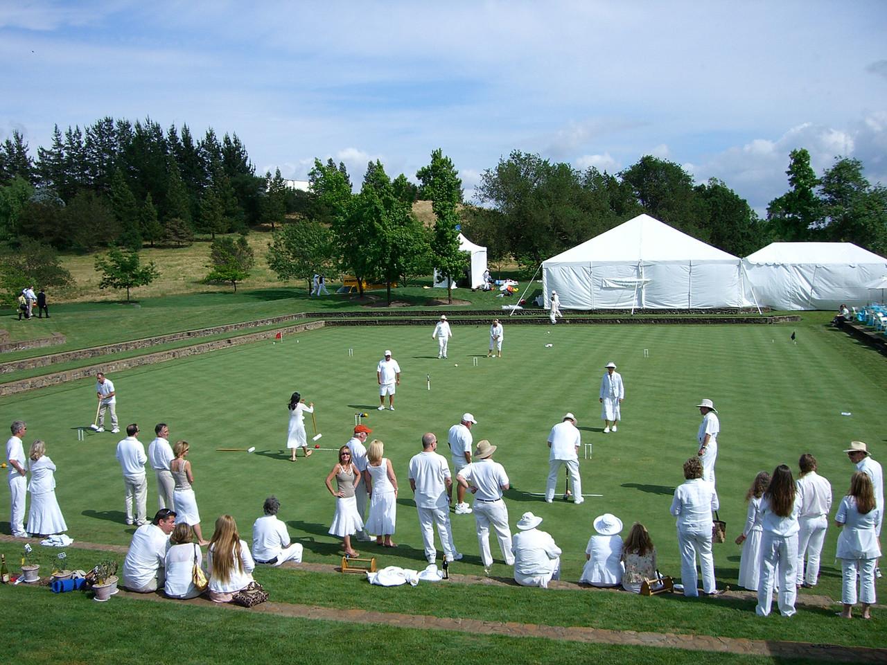 2006 05 20 Sat - Croquet players