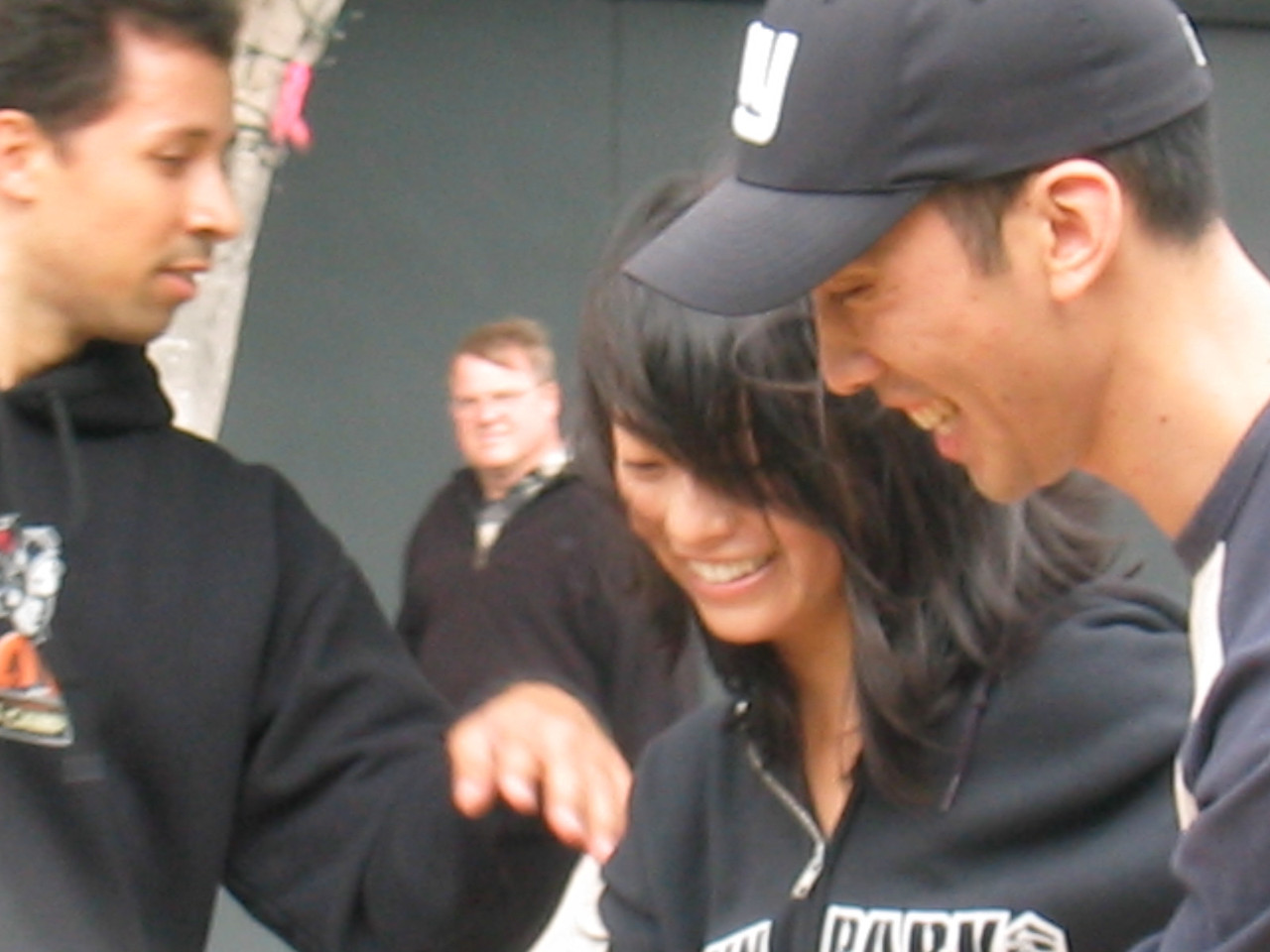 2004 07 03 Saturday - Estee Wang & Jeff lindy hopping at Fillmore Jazz Festival - closer