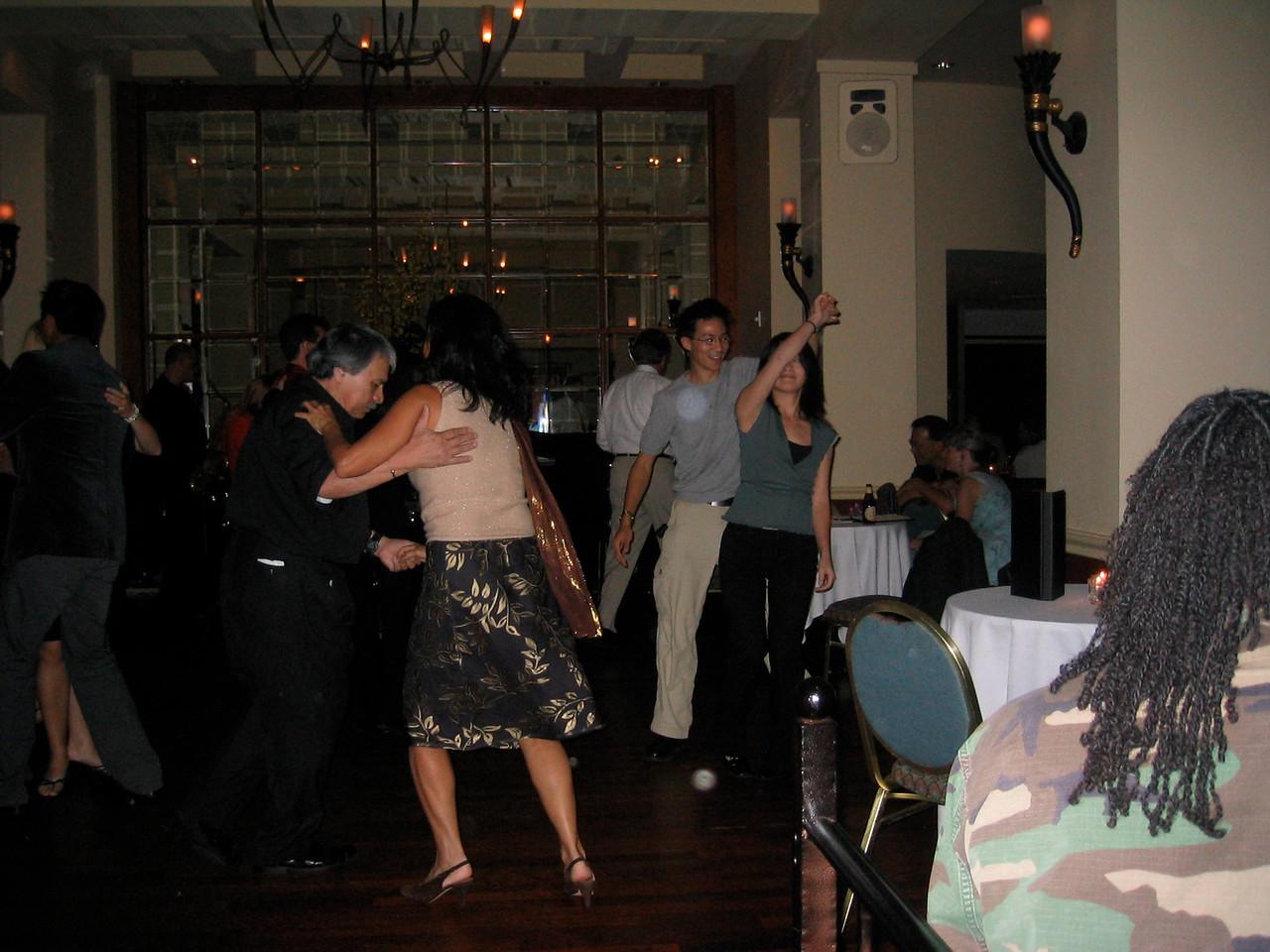2004 06 11 Friday - Top of The Mark - Ben & Estee on the floor