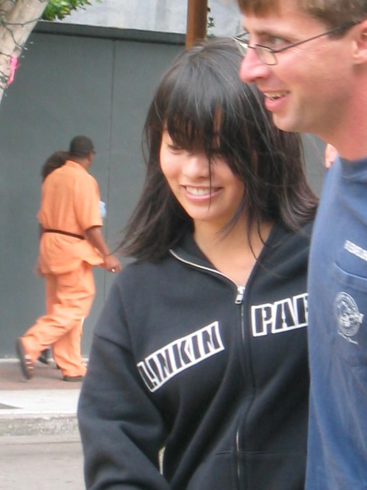 2004 07 03 Saturday - Estee Wang lindy hopping at Fillmore Jazz Festival - close-up