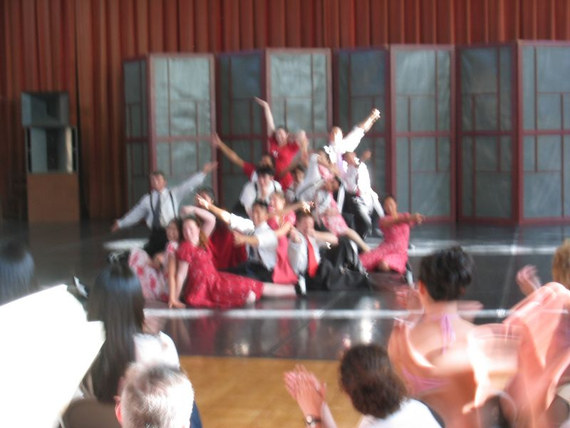 2003 05 31 Saturday - Swingtime finale pose, blurry, @ Stanfurd