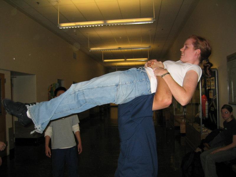 2003 - Steve Childs flipping Sarah Lash