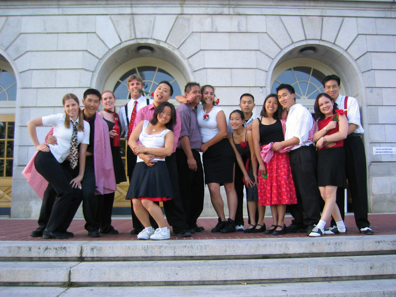 2003 03 - Cheryl & Howard's Lindy group photo