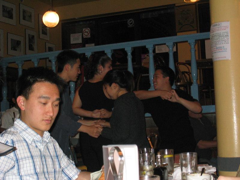 2003 - Howard Zhao swingin' with Cheryl Chan & Stella Abad swingin' with uhhh