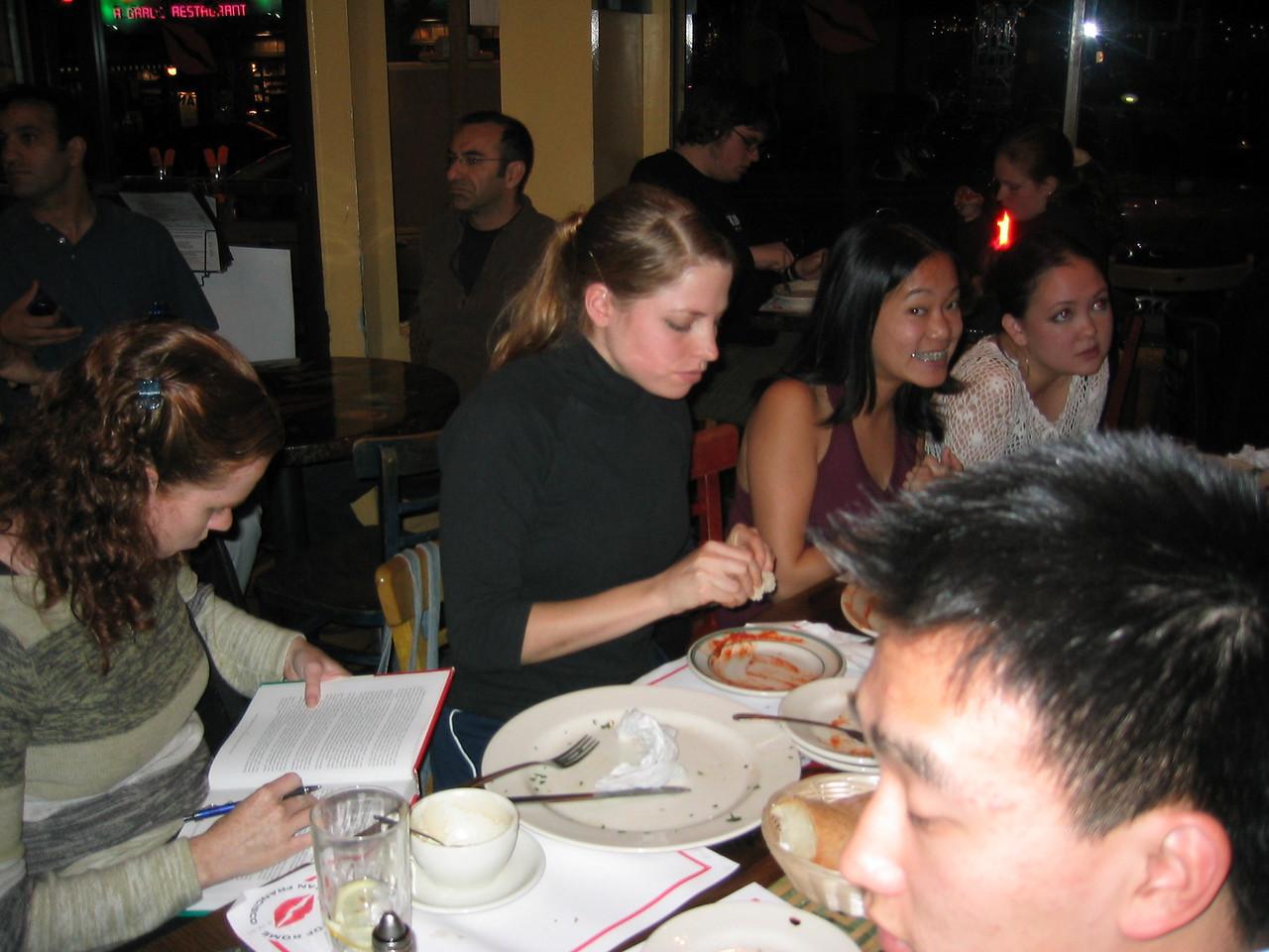 2003 - Sarah Lash, Stephanie Johnson, Stephanie Wong, & Cathy Clerkin