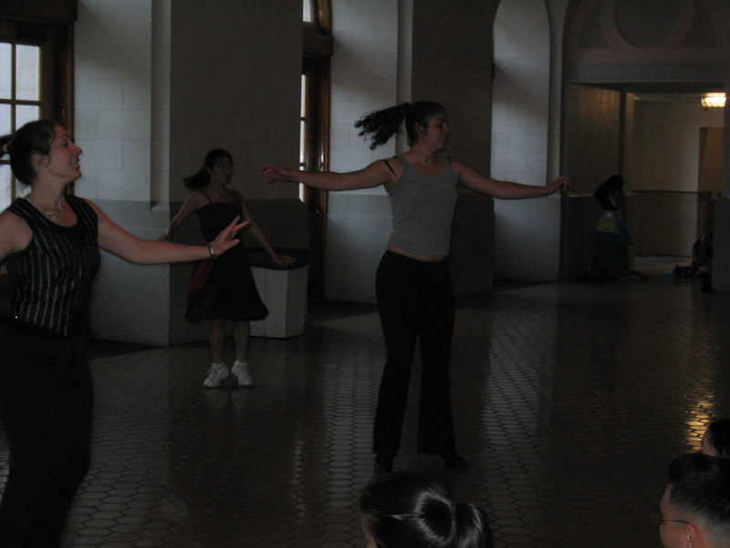 2003 - Stella Abad & Stephanie Wong in a jazz routine
