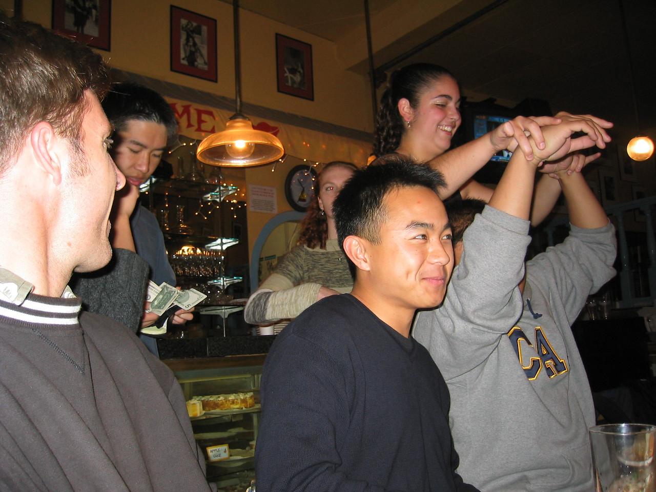 2003 - Steve Childs, Howard Zhao, Sarah Lash, Sterling Tai, Stella Abad, & Anthony Kong
