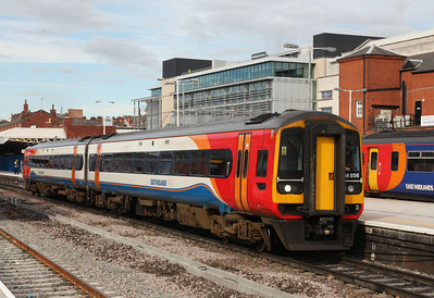 East Midlands Trains 158856 at Nottingham - Tom Smith image used with permission